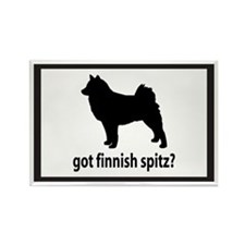 Got Finnish Spitz? Rectangle Magnet