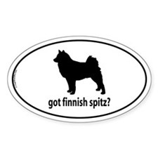 Got Finnish Spitz? Oval Decal