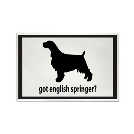 Got English Springer? Rectangle Magnet