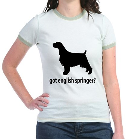 Got English Springer? Jr. Ringer T-Shirt