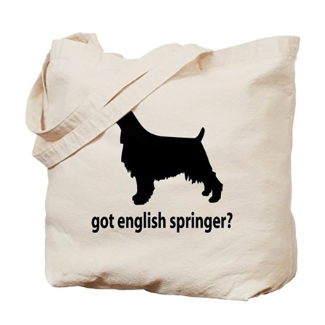 Got English Springer? Tote Bag