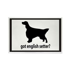 Got English Setter? Rectangle Magnet