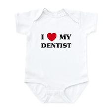 I Love My Dentist Onesie