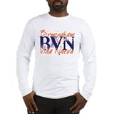 "BVN ""Grunge"" Auburn Long Sleeve T-Shirt"