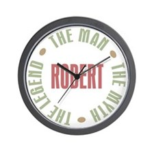 Robert Man Myth Legend Wall Clock