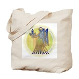 Virgo V Tote Bag
