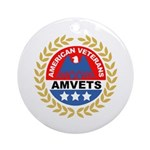 American Veterans for Vets Keepsake (Round) 