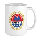 American Veterans for Vets Large Mug
