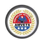 American Veterans for Vets Wall Clock