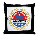 American Veterans for Vets Throw Pillow