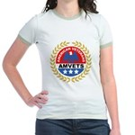 American Veterans for Vets Jr. Ringer T-Shirt