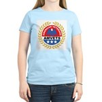 American Veterans for Vets (Front) Women's Pink T-