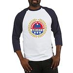 American Veterans for Vets (Front) Baseball Jersey