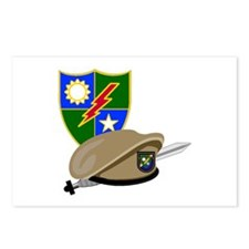 Army Ranger Beret Dagger Postcards (Package of 8)