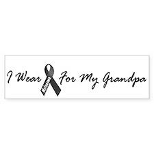 I Wear Black For My Grandpa 1 Bumper Sticker