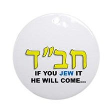 JEW IT Ornament (Round)
