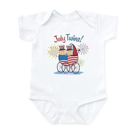 JULY TWINS! Infant Bodysuit