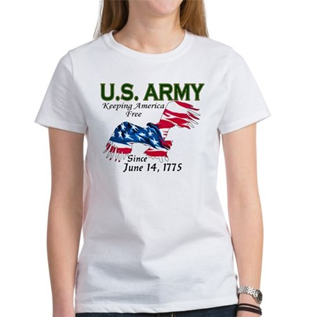 Army Keeping America Free Women's T-Shirt