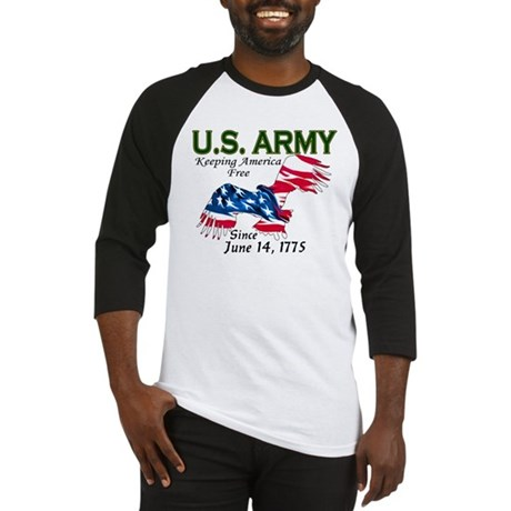 Army Keeping America Free Baseball Jersey