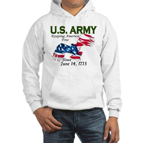 Army Keeping America Free Hooded Sweatshirt