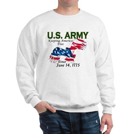 Army Keeping America Free Sweatshirt