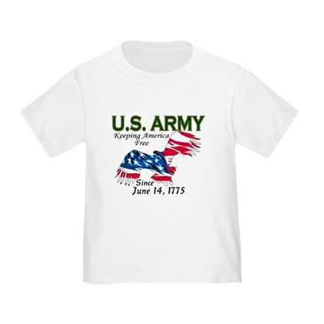 Army Keeping America Free Toddler T-Shirt