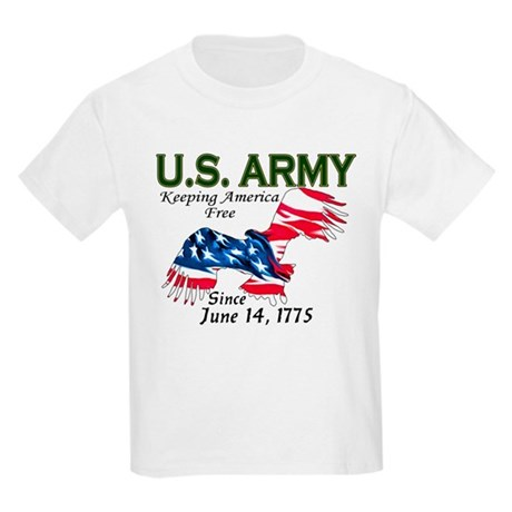Army Keeping America Free Kids T-Shirt