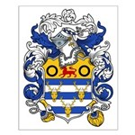 Woodward Family Crest Small Poster