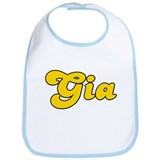Retro Gia (Gold) Bib