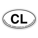 CL Oval Decal