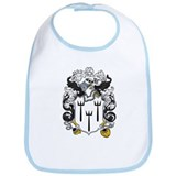 Worthington Family Crest Bib