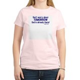 Don't Worry Women's Pink T-Shirt
