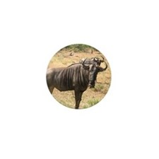Wildebeests Mini Button