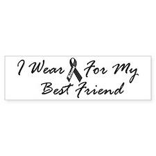 I Wear Black For My Best Friend 1 Bumper Sticker