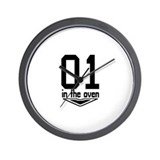 One in the Oven Wall Clock