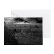 Taos Wall Greeting Card