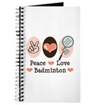 Peace Love Badminton Journal