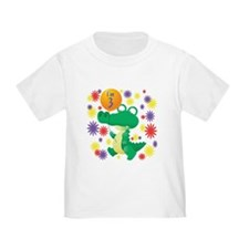 I'm 3 Birthday Alligator T