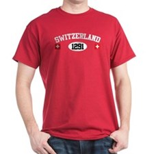 Switzerland 1291 T-Shirt