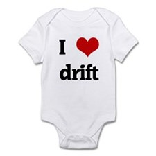 I Love drift Infant Bodysuit
