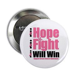 "Hope, Fight, Win BC 2.25"" Button (10 pack)"
