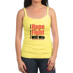 Hope, Fight, Win BC Jr. Spaghetti Tank