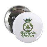 "Recycle Queen 2.25"" Button (100 pack)"