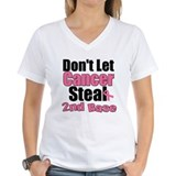 Don't Let Cancer Steal 2nd Base Shirt