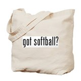 got softball? Tote Bag
