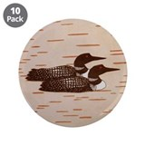 Loon 3.5&quot; Button (10 pack)