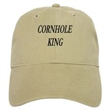 Cornhole Baseball Cap white