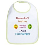 Don't Feed Me Bib