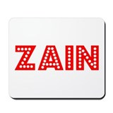 Retro Zain (Red) Mousepad