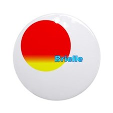 Brielle Ornament (Round)